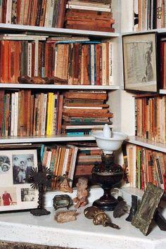 Biblioteca di Ernesto Sabato - Sabato's library