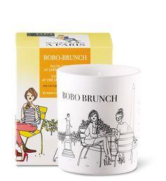 Coffret bougie parfumée 40h bobo brunch fruité aromatique