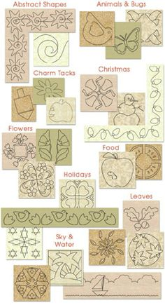 free machine quilting stencils | RGA Design, Machine Quilting ... : rga design quilts - Adamdwight.com