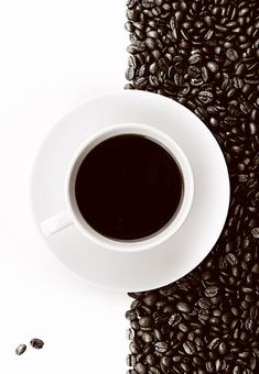 Have A Cup of Coffee - Delicious Photographs - 121Clicks.com #CoffeeBeans