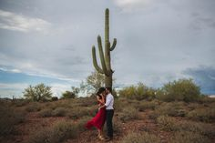 Steamy Desert Engagement in Phoenix | Photo by Nicole Ashley