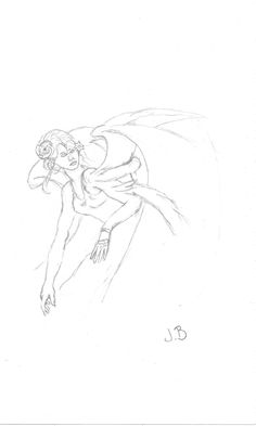 """From """"How to Draw Fairies - in simple steps"""" - Paul Bryn Davies"""