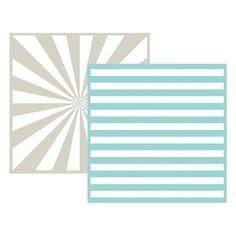 "We R Memory Keepers/Lifestyle Crafts """"Stripe"""" Embossing Folders"