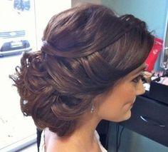 Tie-Up, Back Bun ♥ Beautiful bridesmaid
