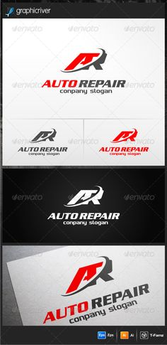 Auto Repair  - Logo Design Template Vector #logotype Download it here: http://graphicriver.net/item/auto-repair-logo-templates/4777693?s_rank=268?ref=nesto