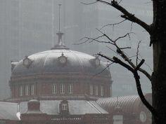 Snowing day. Tokyo Station, Taj Mahal, Building, Travel, Viajes, Buildings, Destinations, Traveling, Trips