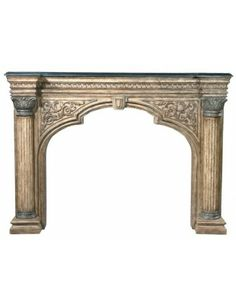 Arch Fireplace Surround - Fireplaces & Mantels - Living Room