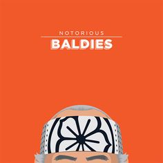 Hilarious Illustrations Of Some Of The Most Famous Bald Headed Characters on http://naldzgraphics.net