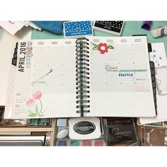 Ugh! I was off to a great start until I dropped my inkpad   #StudioL2E #makingplanningfun #plannerlove #planneraddict #plannergirl #plannernerd #plannerstamps #plannerstamping