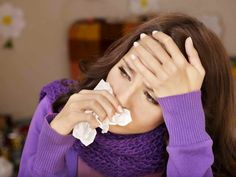 We're in the thick of cold and flu season and the U. Centers for Disease Control of Prevention estimates that half of all Americans will avoid getting the flu shot this year. Here are several common flu myths, debunked. Home Remedy For Cough, Home Remedies, Natural Remedies, Flu Remedies, Herbal Remedies, Homeopathic Remedies For Allergies, Allergy Remedies, Flu Symptoms, Allergy Symptoms