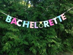 Perfect banner for any Bachelorette Party! Banner measures about six feet in length and strung on pink ribbon which measures nine feet. Each letter Bachelorette Banner, Bachelorette Party Decorations, Bachelorette Weekend, Bachelorette Parties, Party Gifts, Party Favors, Shower Party, Baby Shower, On Your Wedding Day