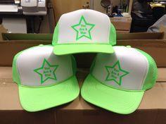 Custom heat pressed hats