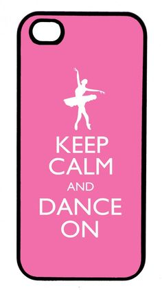 Keep Calm and Dance On Ballet iPhone 5 Case (other colours available) (http://www.wordon.com.au/products/copy-of-keep-calm-and-dance-on-ballet-iphone-4-case.html)