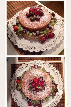 Naked Cake massa de pão de ló recheios de brigadeiro branco e brigadeiro preto. Nossos bolos feitos com amor e carinho para você! Orçamentos e encomendas: queroacucarbolos@gmail.com e pelo celular e whatsapp (21) 98056-6621