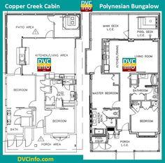 Review kidani village at disney s animal kingdom villas for Copper creek homes floor plans