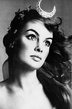 Jean Shrimpton photographed by Richard Avedon, 1968