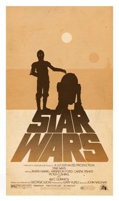 Star Wars - A New Hope - Minimalist Alternative Poster by ~3ftDeep