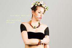 SS13 EMBERA campaign - Melina Urueta fashion and accesories designer.  necklace, ss13, handmade, made in barcelona, inspiration panama.  www.melinaurueta.com