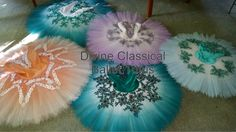 Divine Classical Ballet Tutus: Airbrushed Classical Ballet Tutus
