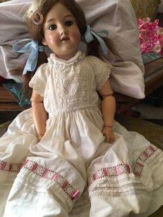 Jsem oddělený od mého těžkého srdečního Armand Marseille panenku. Žádné trhliny nebo poškození, vyzvednout nebo lodní Ca. 60cm
