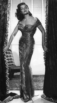 """Jane Russell in the 1950s movie """"The Revolt of Mamie Stover"""""""