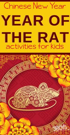 According to the Chinese Zodiac, 202 is the Year of the Rat. You and your children will love learning about and celebrating Chinese New Year with these Chinese Year of the Rat Activities for Kids!