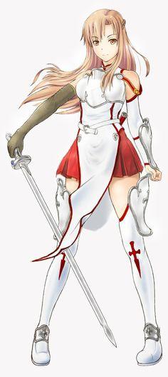 Haaa Asunaaaa :D Sword Art Online