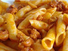 Comoju: Macarrones con Chorizo en Olla Rápida