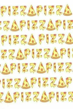 pizza, wallpaper, and background image Food Wallpaper, Emoji Wallpaper, Laptop Wallpaper, Pattern Wallpaper, Pizza Emoji, Pizza Cat, Pizza Background, I Love Pizza, Whatsapp Wallpaper