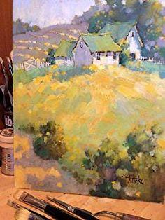 Watercolor Landscape, Landscape Paintings, Watercolor Paintings, Watercolours, Love Painting, Oil Painting Abstract, Minimalist Landscape, Painting Workshop, Watercolor Illustration