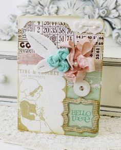 Card by Melissa Phillips for Papertrey Ink (March 2012)