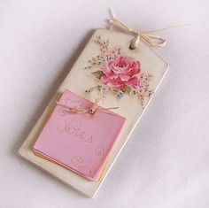message board with pink rose | Flickr - Photo Sharing!