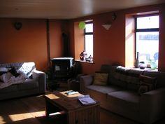 Living Room - Before Big Kitchen, Old Houses, Corner Desk, Living Room, Furniture, Home Decor, Corner Table, Decoration Home, Room Decor
