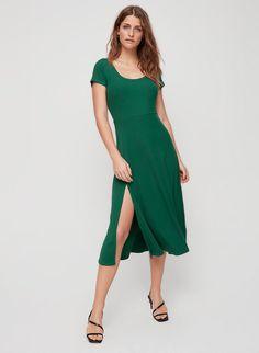 5bc349af05375 Wilfred ORALIE DRESS   Aritzia US A Line Skirts, Short Sleeve Dresses,  Dresses For