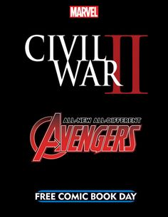 The Opening Salvo of CIVIL WAR II Will Be Fired on FREE COMIC BOOK DAY!