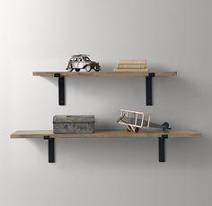 Industrial Plank Shelf