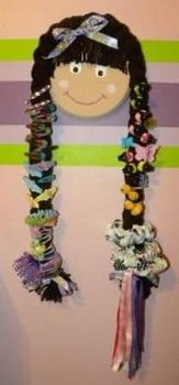 Do-It-Yourself Little Girl Hair Bow Holder - Erie Children's Arts & Crafts | Examiner.com