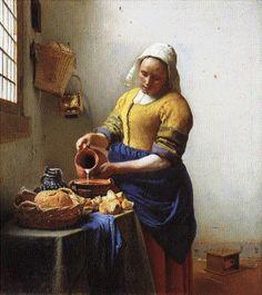 The Kitchen Maid, Vermeer
