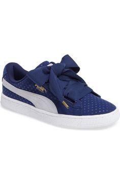 PUMA Basket Heart Sneaker. #puma #shoes #