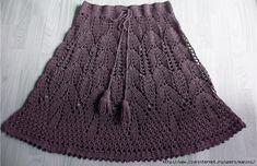 Fan Skirt free crochet graph pattern