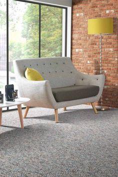 Finn Jull style poet Sofa retro 2 two seater sofa solid Oak legs grey single tone: Amazon.co.uk: Kitchen & Home - something like this