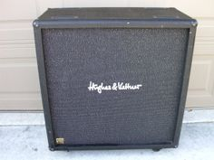 This cabinet has a great sound. It is loaded with vintage 30's and they sound great! It has nice highs and deep lows. It does have some wear and tear so please note the pictures. It also has castors. I have used it with by 68 bassman head and it sound terrific. I hope the next buyer enjoys using it!