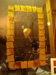 Escaparate de tostadas con amor #TostadasGenius #SanValentín
