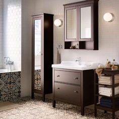 ikea bathroom vanity | Modern Ikea Bathroom for Enhancing the House Design: Bathroom Idea want in white