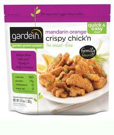 I <3 Gardein products!!!! Gardein Mandarin Orange Crispy Chick'n: 4 Points Plus