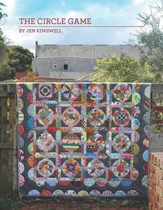 The Circle Game by Jen Kingwell Quilt Pattern by ModernQuilter, $23.95