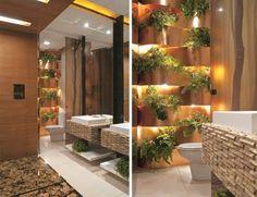 natural chic bathroom