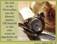 Die Zeit ist das Wertvollste