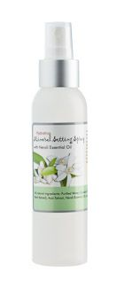 You'll love this hydrating mist for application either before mineral makeup.... or after!  Neroli oil (from orange blossoms) to moisturize and add a youthful glow. Spray mist onto face after applying makeup or to add hydration anytime of the day.  $14 each.  Ingredients: Purified Water, Camellia (Green tea extract), Salix Nigra (Willow bark extract), Grapefruit Seed Extract, Neroli Essential Oil.