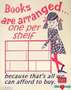 Libraries. Don't let this happen ...